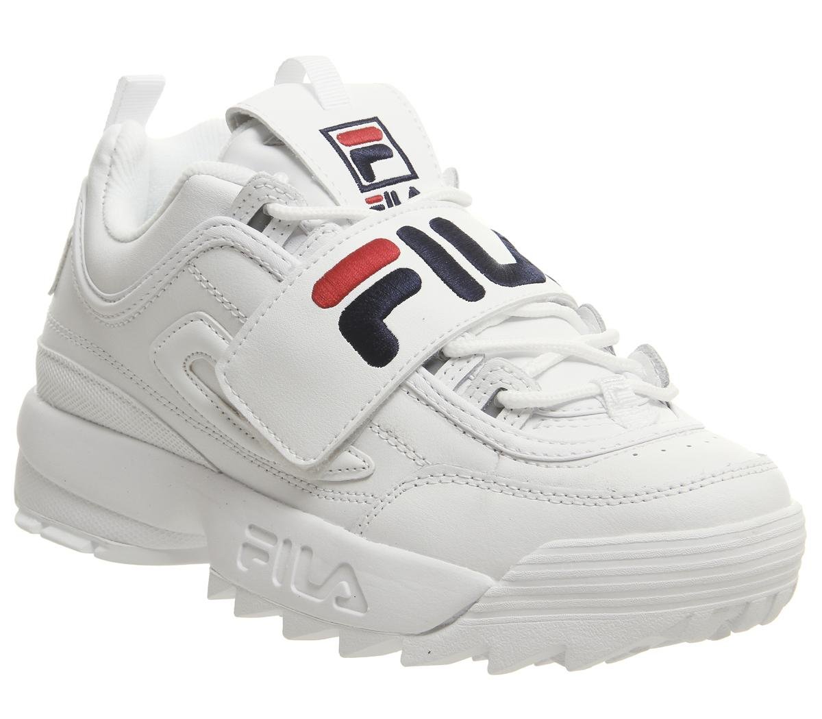 fila white velcro shoes Sale Fila Shoes