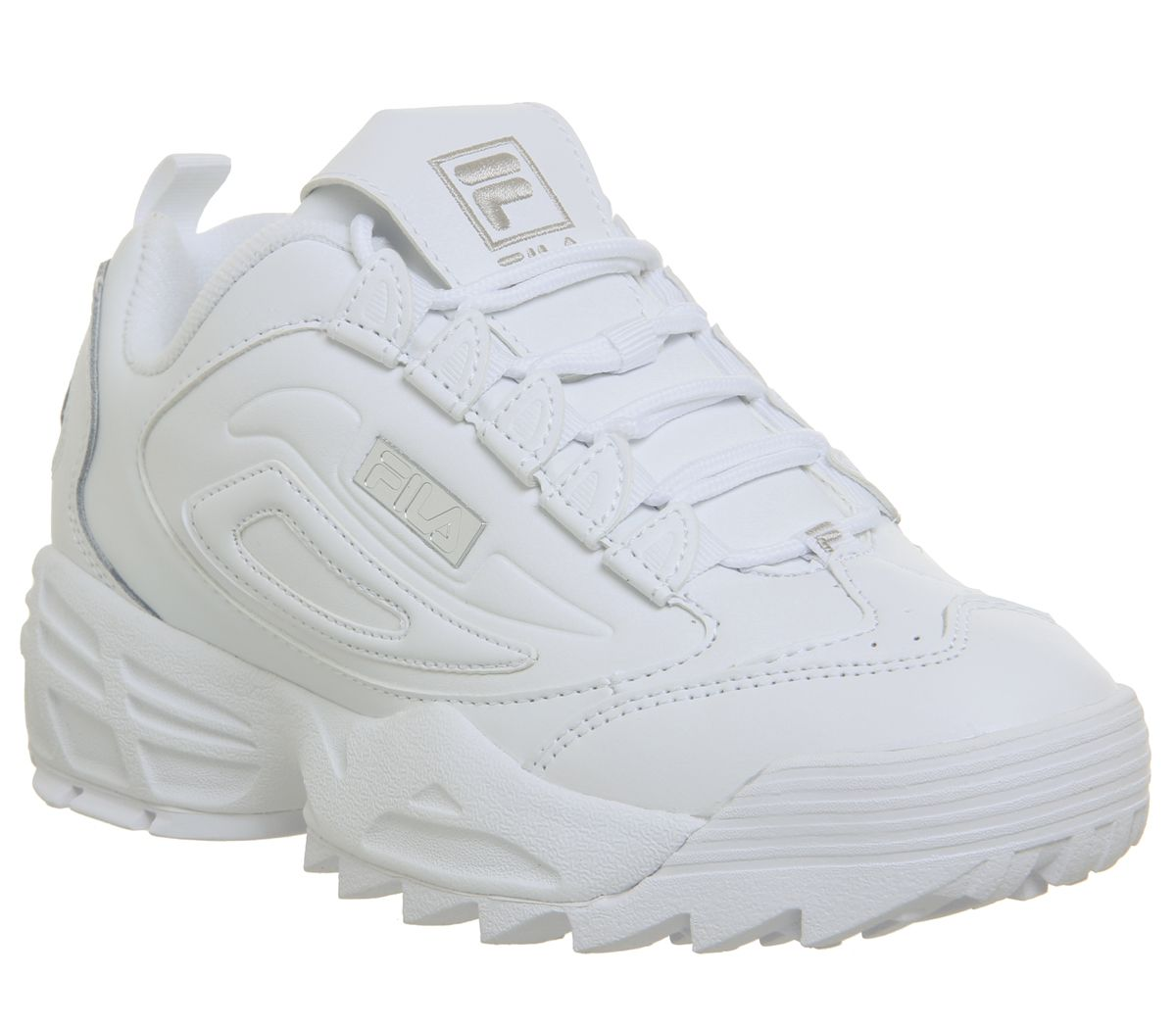 9cef9f56d351 Fila Disruptor 3 Trainers White - Hers trainers