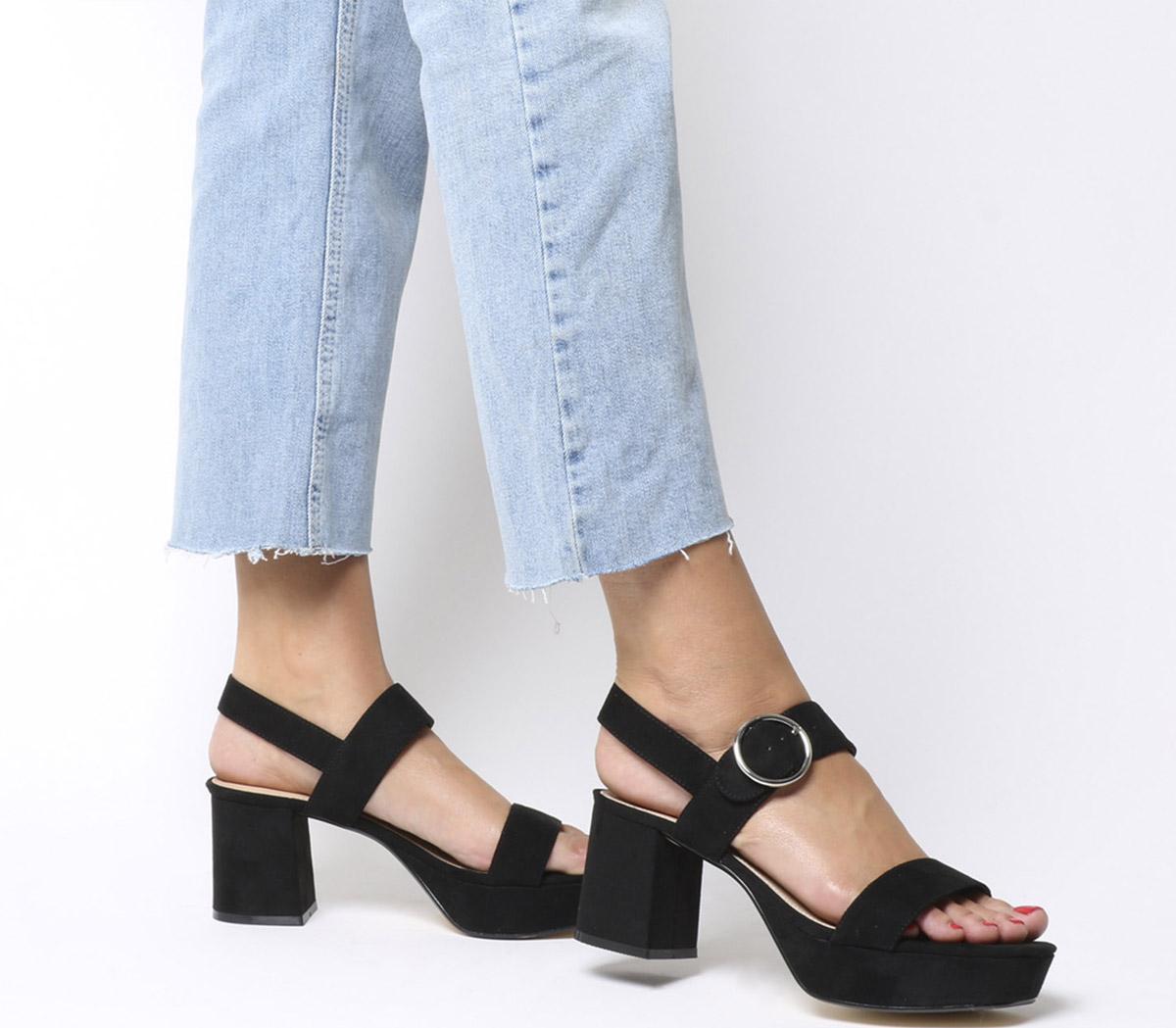 Mouse Platform Sandals