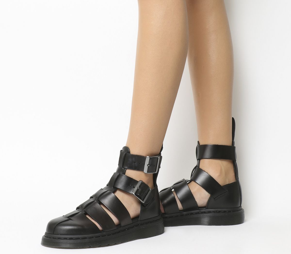 1472c4fab6f Dr. Martens Geraldo Sandal Black Brando Leather - Sandals