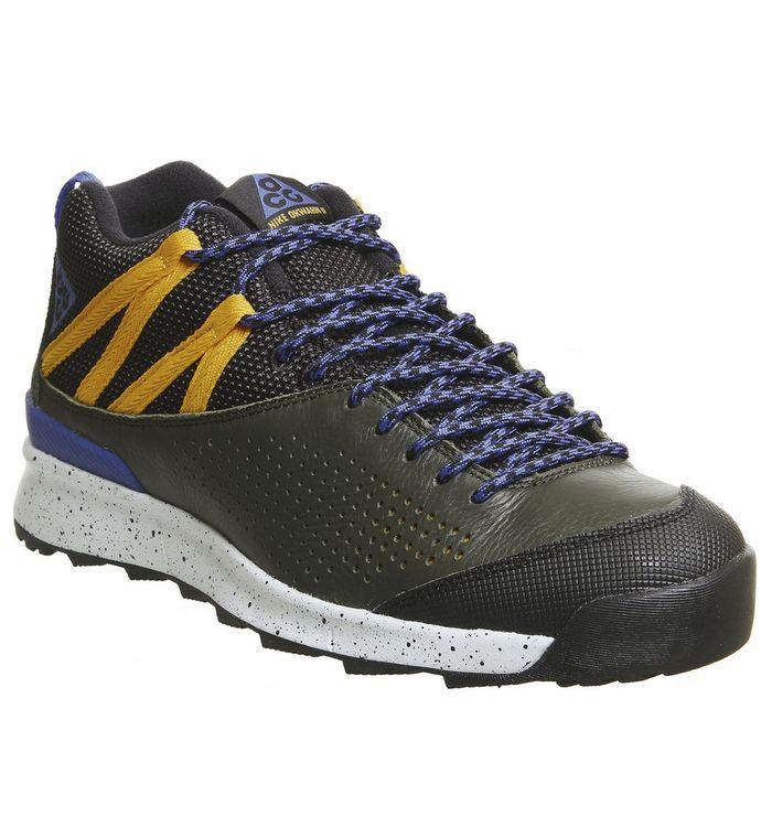 los angeles 2c088 4699a Okwahn Ii Og Trainers  Nike, Okwahn Ii Og Trainers, Racer Blue Yellow Ochre  Pure Platinum Qs ...