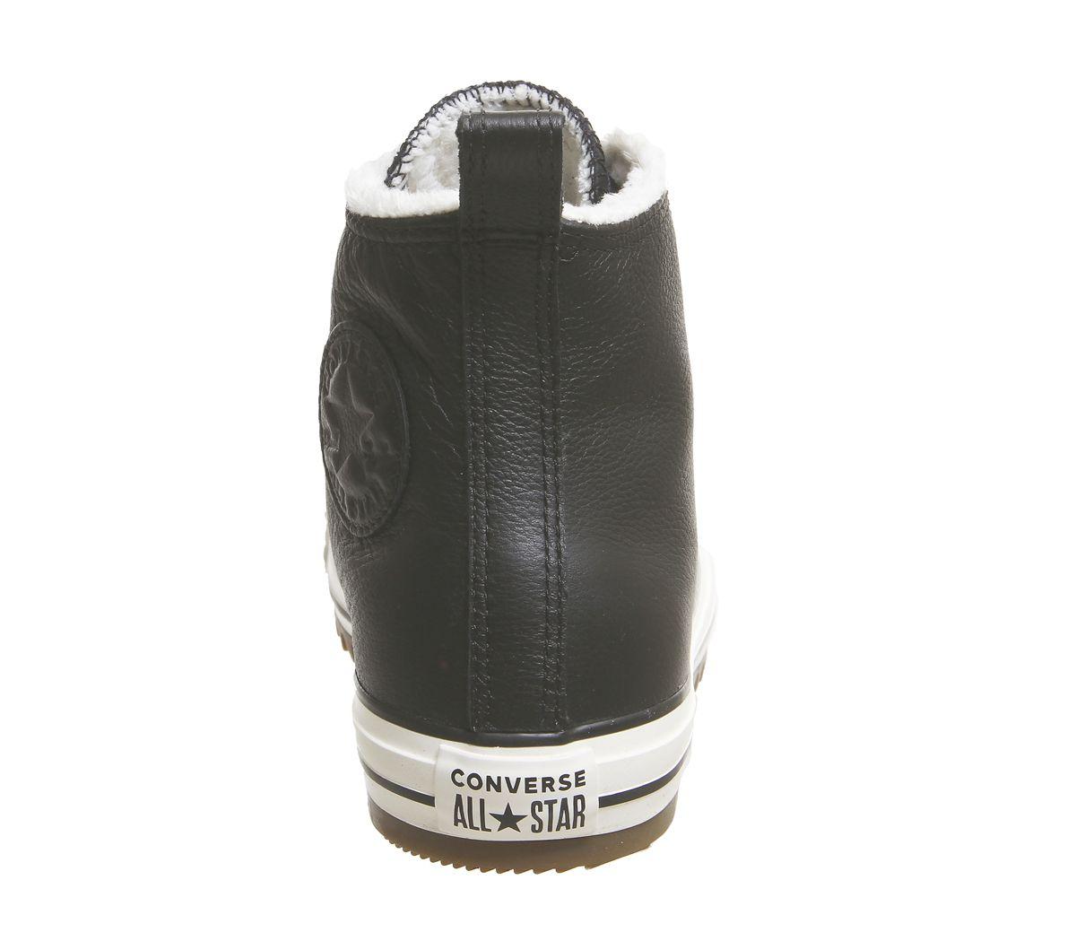 96953a071b9293 Converse Ctas Hiker Boots Hi Black Egret Gum - Hers trainers