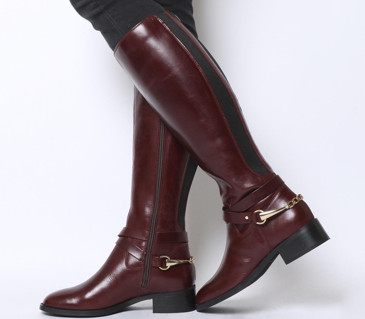 Klink Smart Chain Detail Riding Boots
