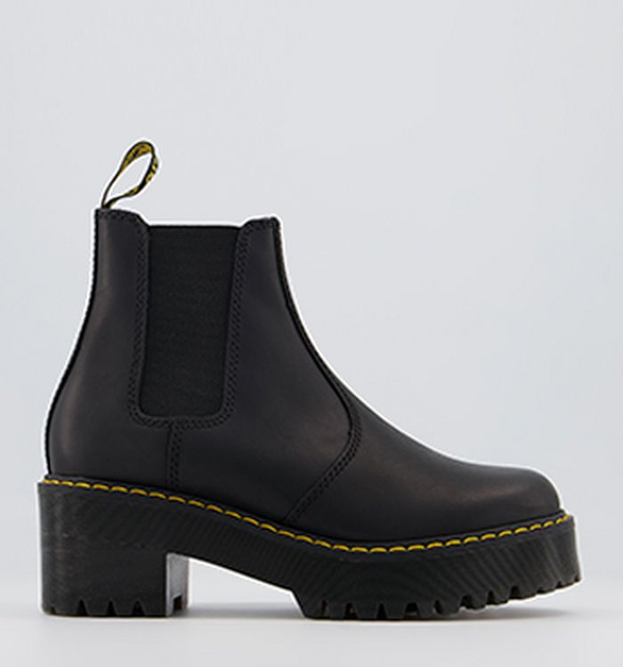 e0f8a2efedd5a0 Dr. Martens 8 Eye Lace Boots Black Leather. 170