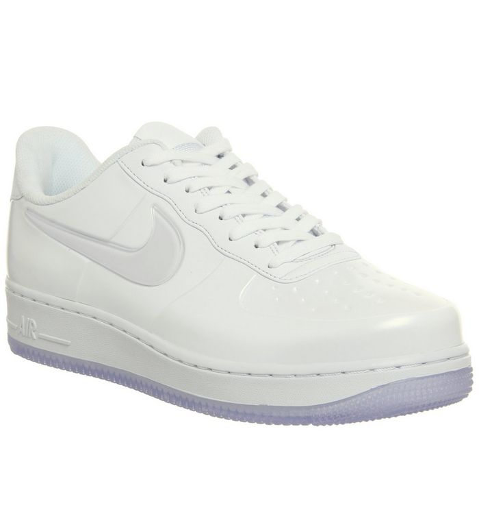 new style 3f9b0 4d841 ... Nike, Af1 Foamposite Pro Cup Trainers, White ...