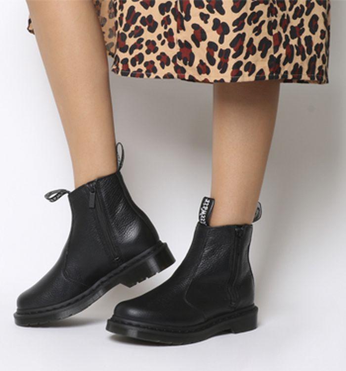 8073cf63a84c6c Dr. Martens Rometty Chelsea Boots Black. 185