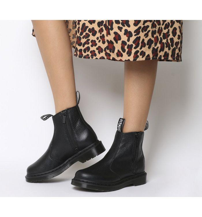 96e558fc487 Dr. Martens Rometty Chelsea Boots Black - Womens Chelsea Boots
