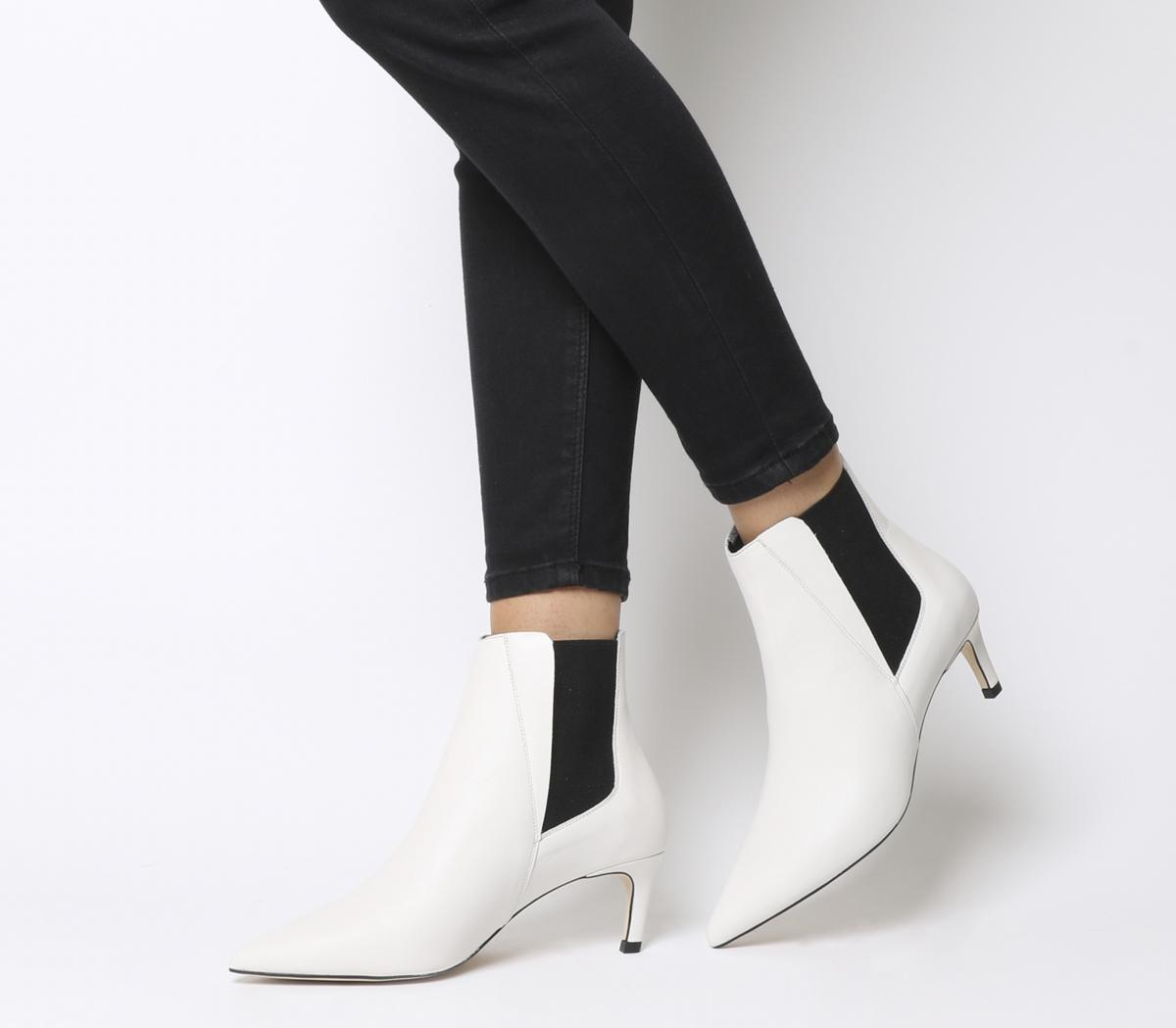 Attire Kitten Heel Chelsea Boots