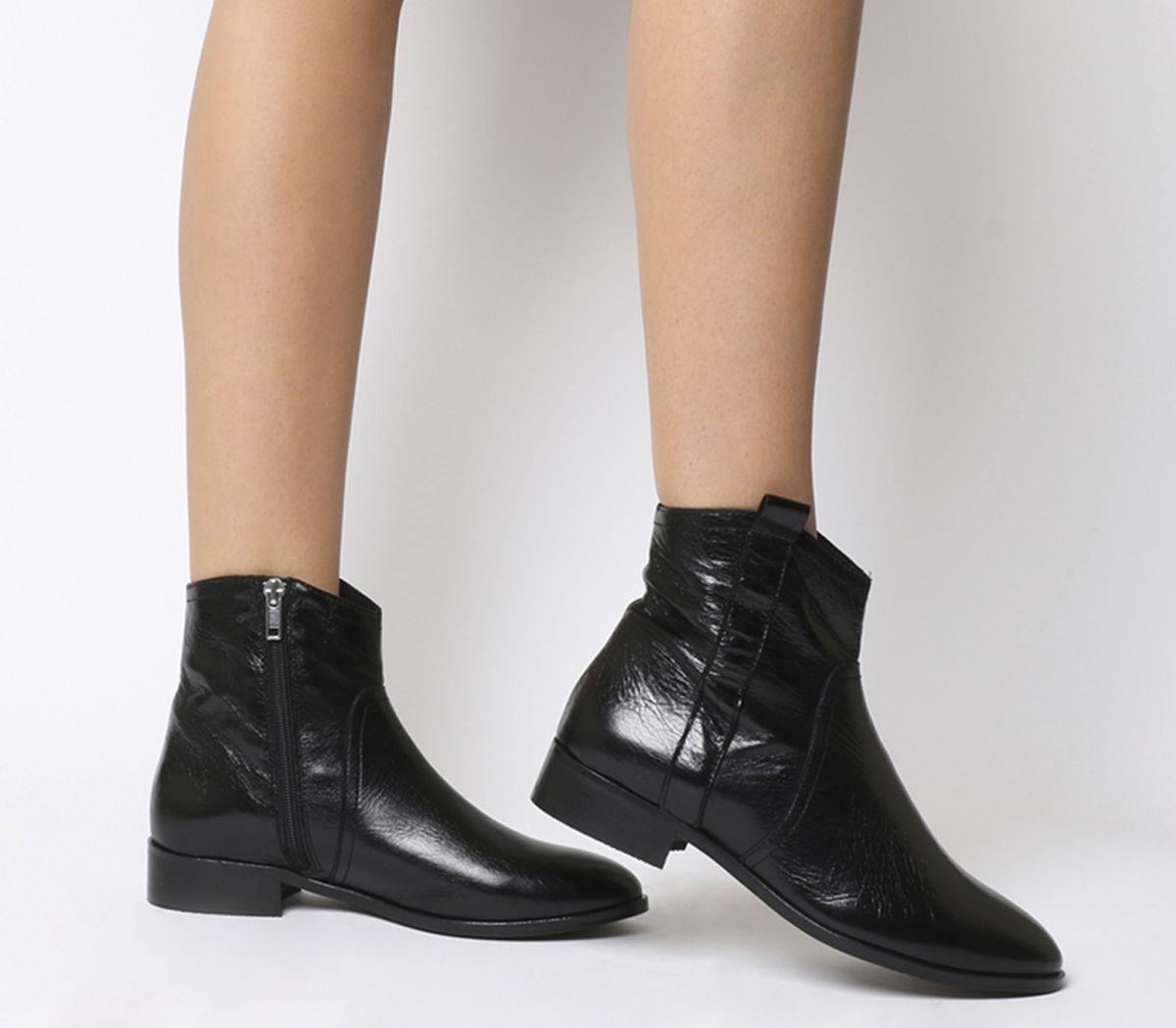 de0ee3e76f4c4 Amuse Western Flat Boots