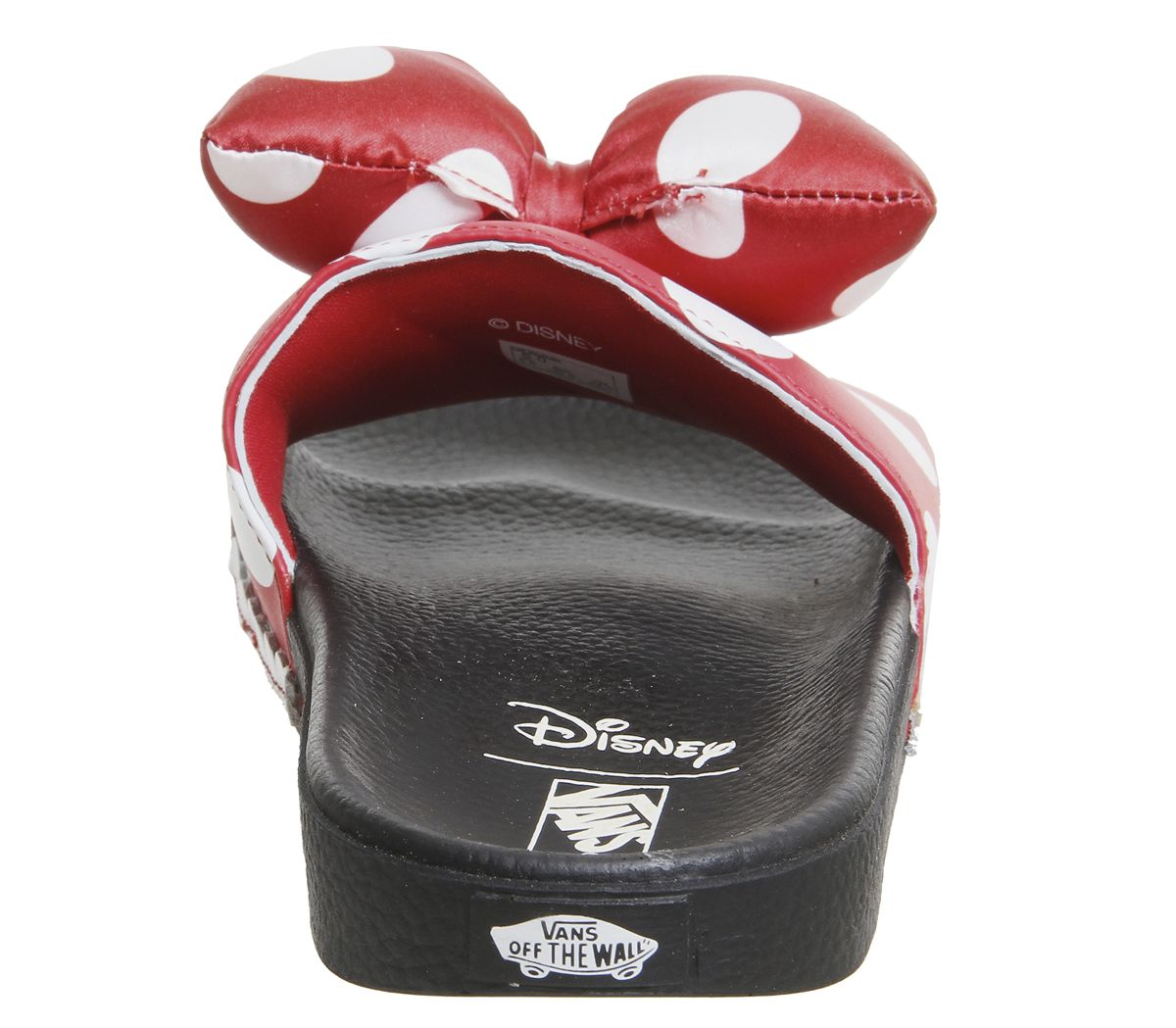 671449eee072 Vans Wm Slide On Sliders Minnies Bow True White Disney - Hers trainers