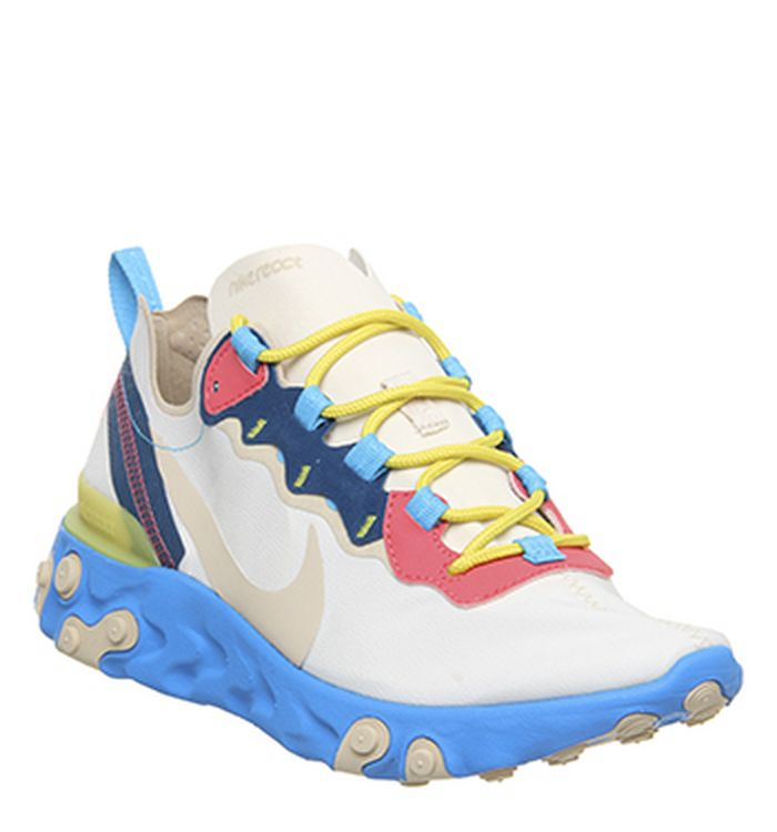 quality design f93ae 8b273 Launching 02-05-2019 · Nike React Element 55 Trainers Light Cream Desert ...