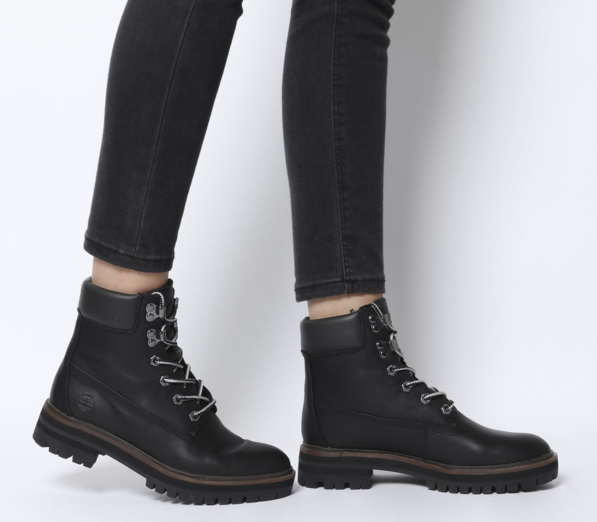 f447fbfd287 Timberland London Square 6 Inch Boots Jet Black - Ankle Boots