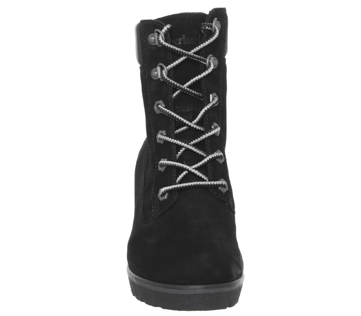 0cb7c016cd96 Timberland Paris Height 6 Inch Wedge Boots Black - Womens Boots