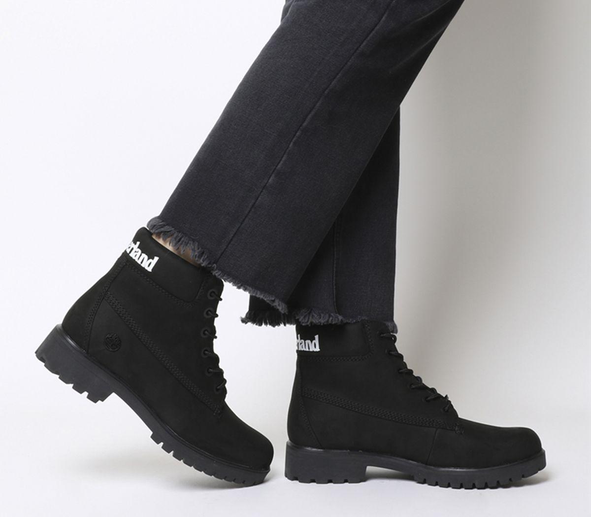 73d783b3096 Slim 6 Inch Logo Boots