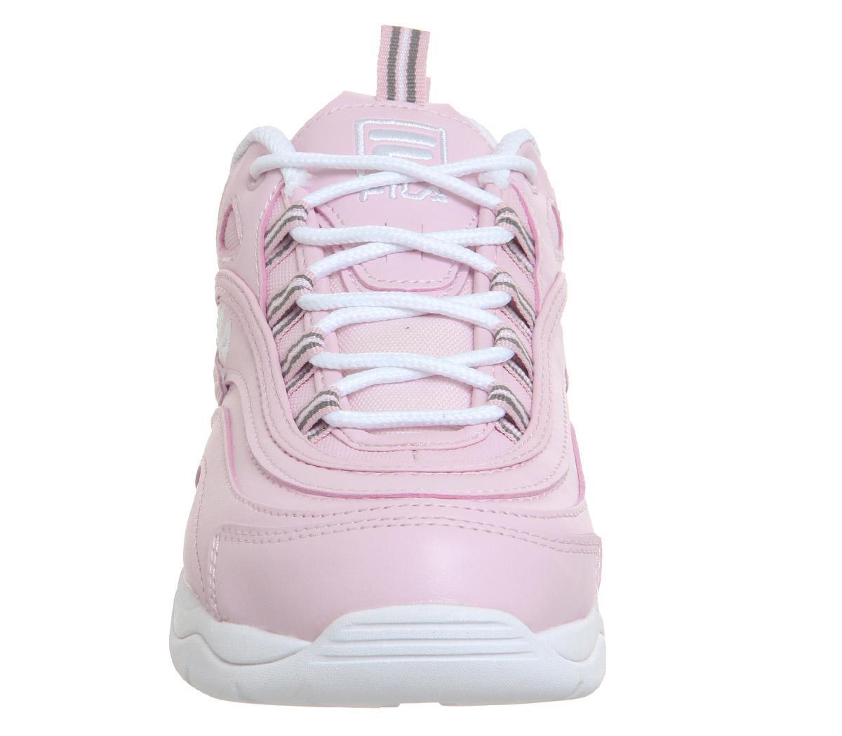 Fila Fila Ray Trainers Chalk Pink White Chalk Pink - Sneaker damen