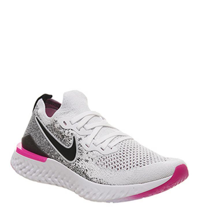 check out 14e9c 996c7 Nike Air Max 270 Gs Trainers White Volt Black Laser Fuchsia. £84.99.  Quickbuy. 25-04-2019
