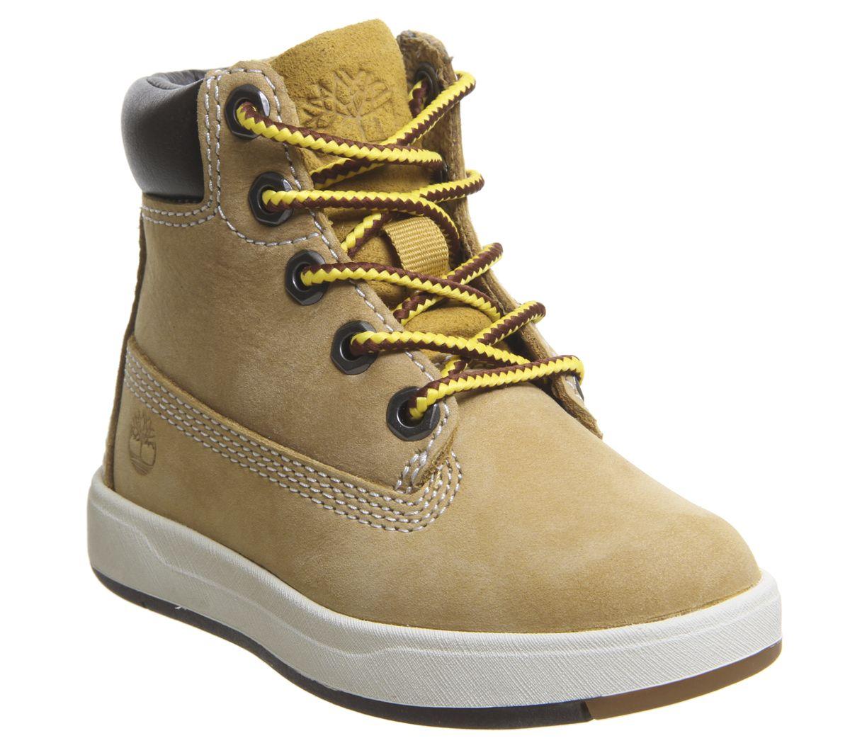 9af15f1f894b1 Timberland Davis Sqaure 6 Inch Boots Infant Wheat Naturebuck - Unisex