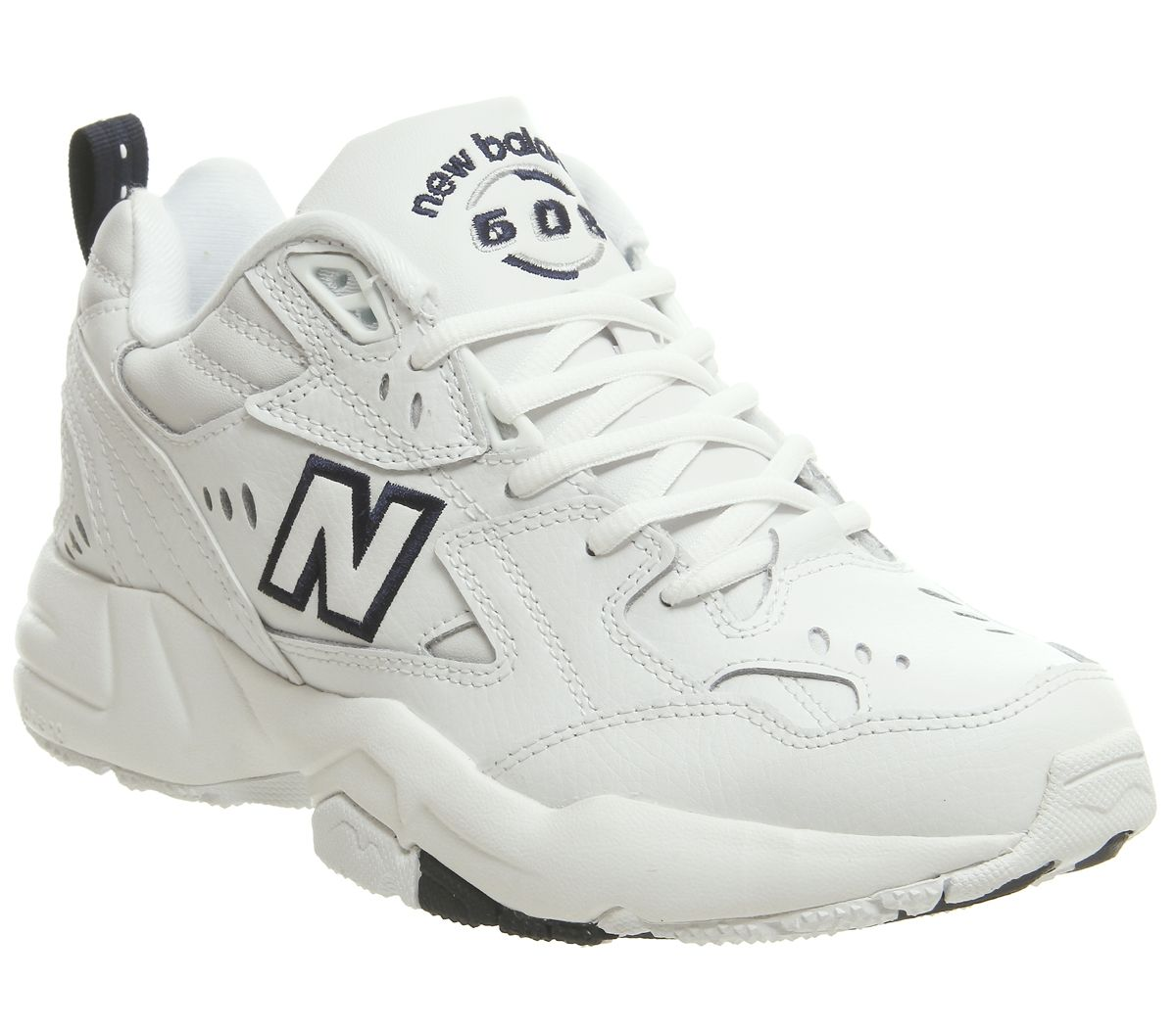 a01efd0651d8a New Balance 608 Trainers White Navy - Hers trainers