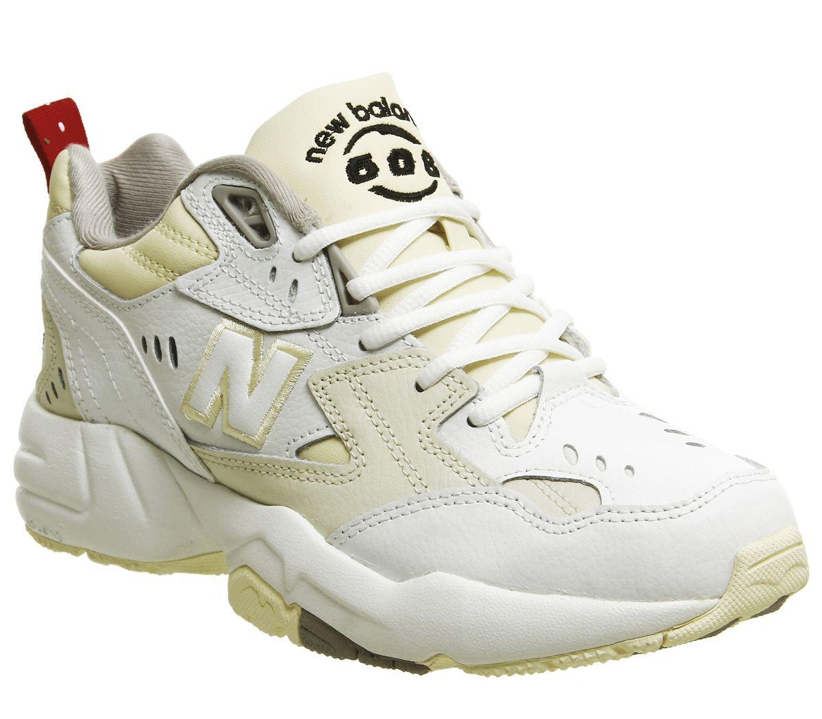 23994f004f2c New Balance 608 Trainers White Cream - Hers trainers