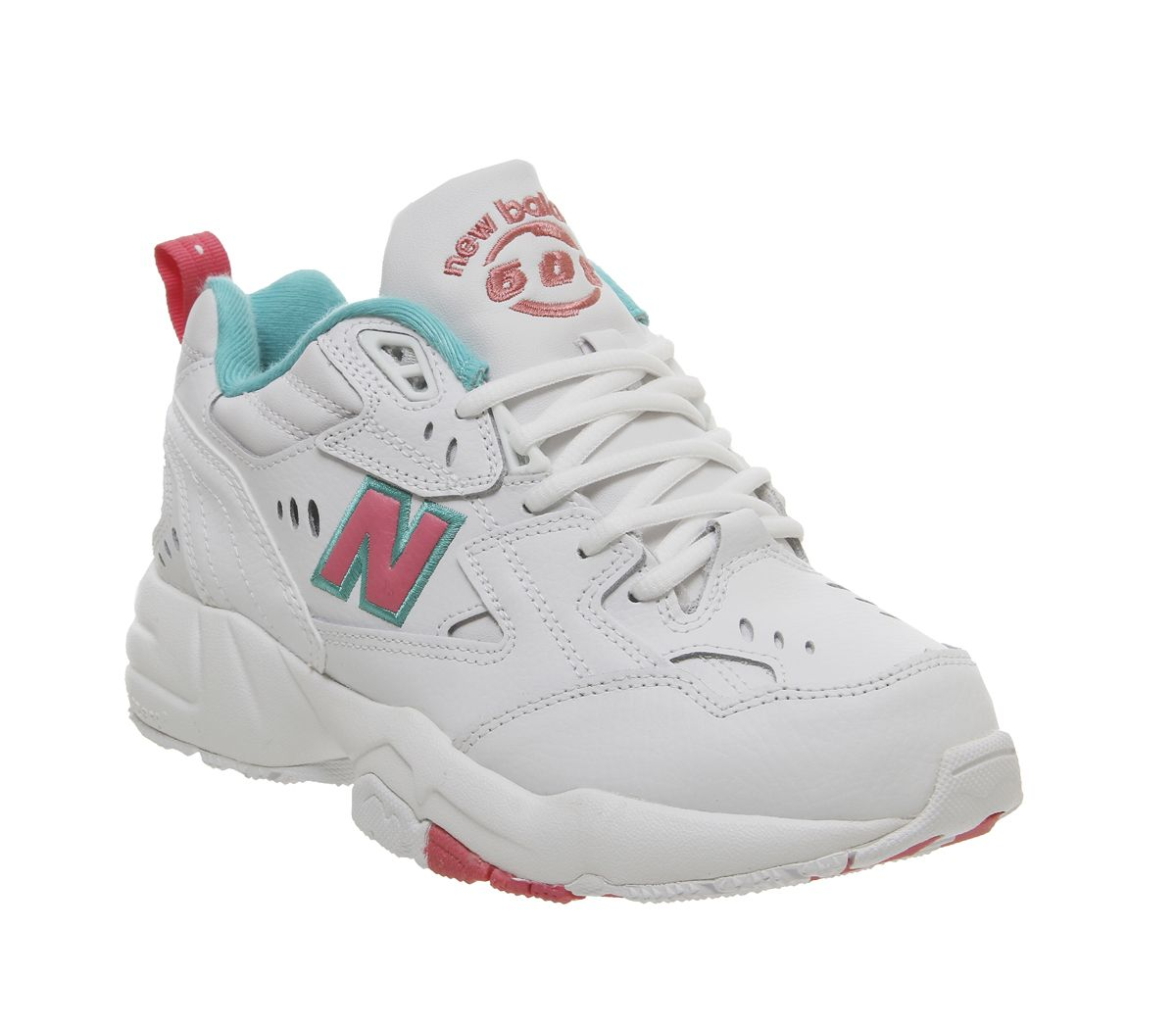 huge discount 5748e 27fdc New Balance 608 Trainers White Pink Green - Hers trainers
