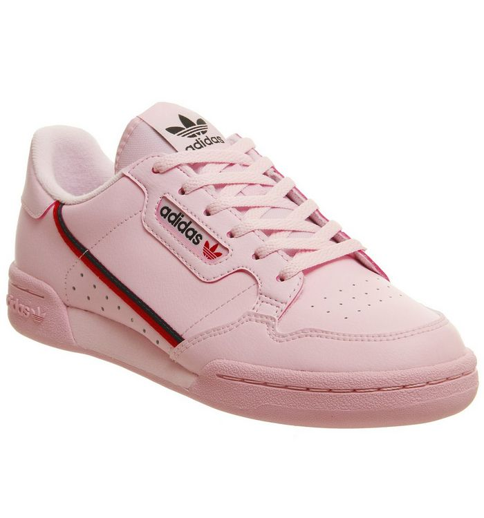 Image of adidas 80 S Continental Jnr CLEAR PINK SCARLET COLLEAGITE NAVY