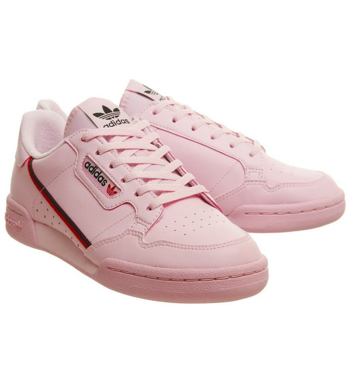 best authentic b91c7 ce507 Continental 80s Jnr Trainers  adidas, Continental 80s Jnr Trainers, Clear  Pink Scarlet Colleagite Navy ...