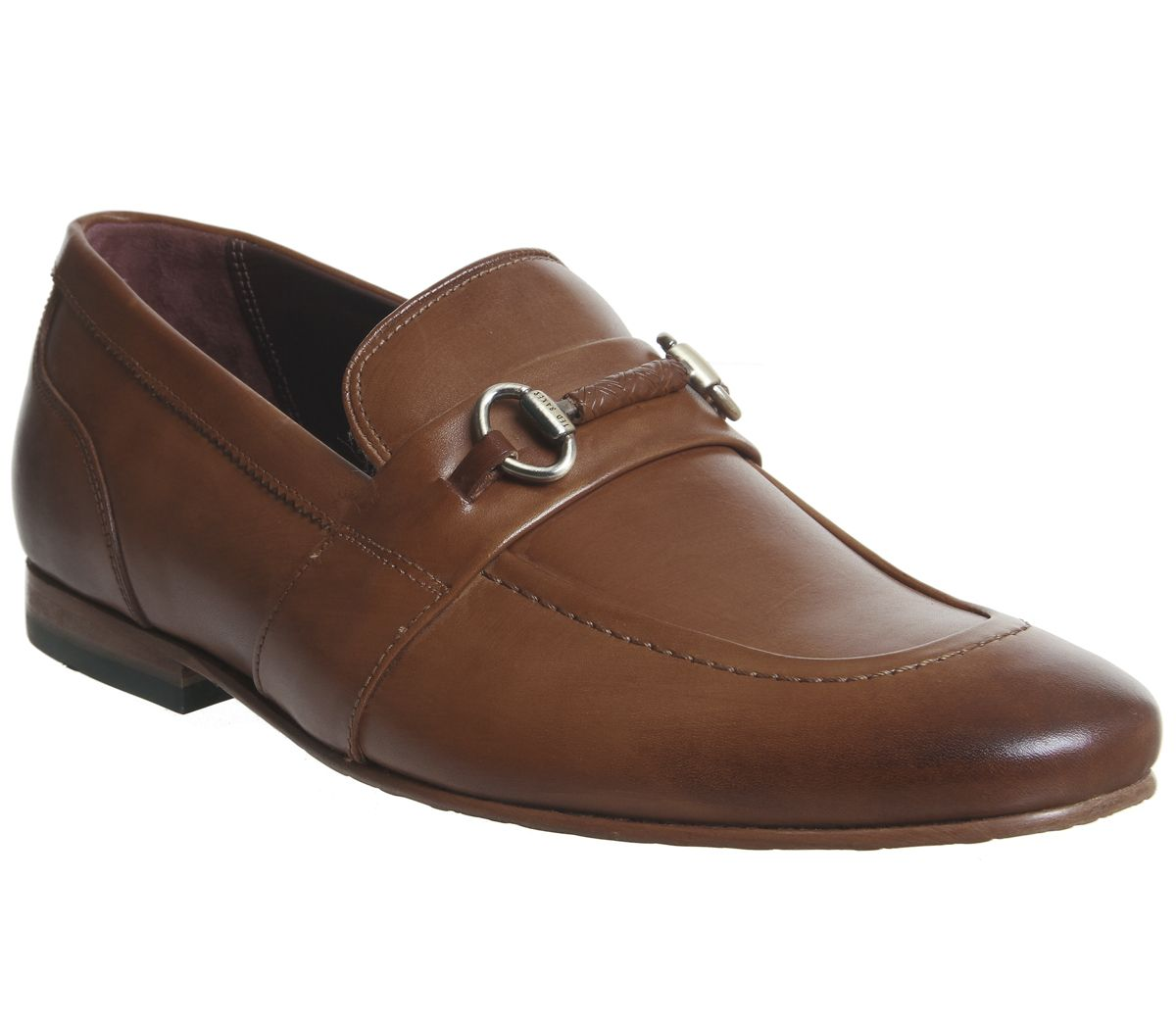 2b0a3e32b Ted Baker Daiser Loafers Tan Leather - Smart