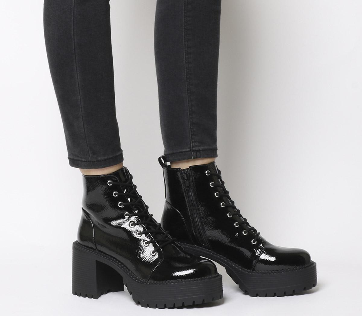 36787b059c7 Animal Chunky Lace Up Boots