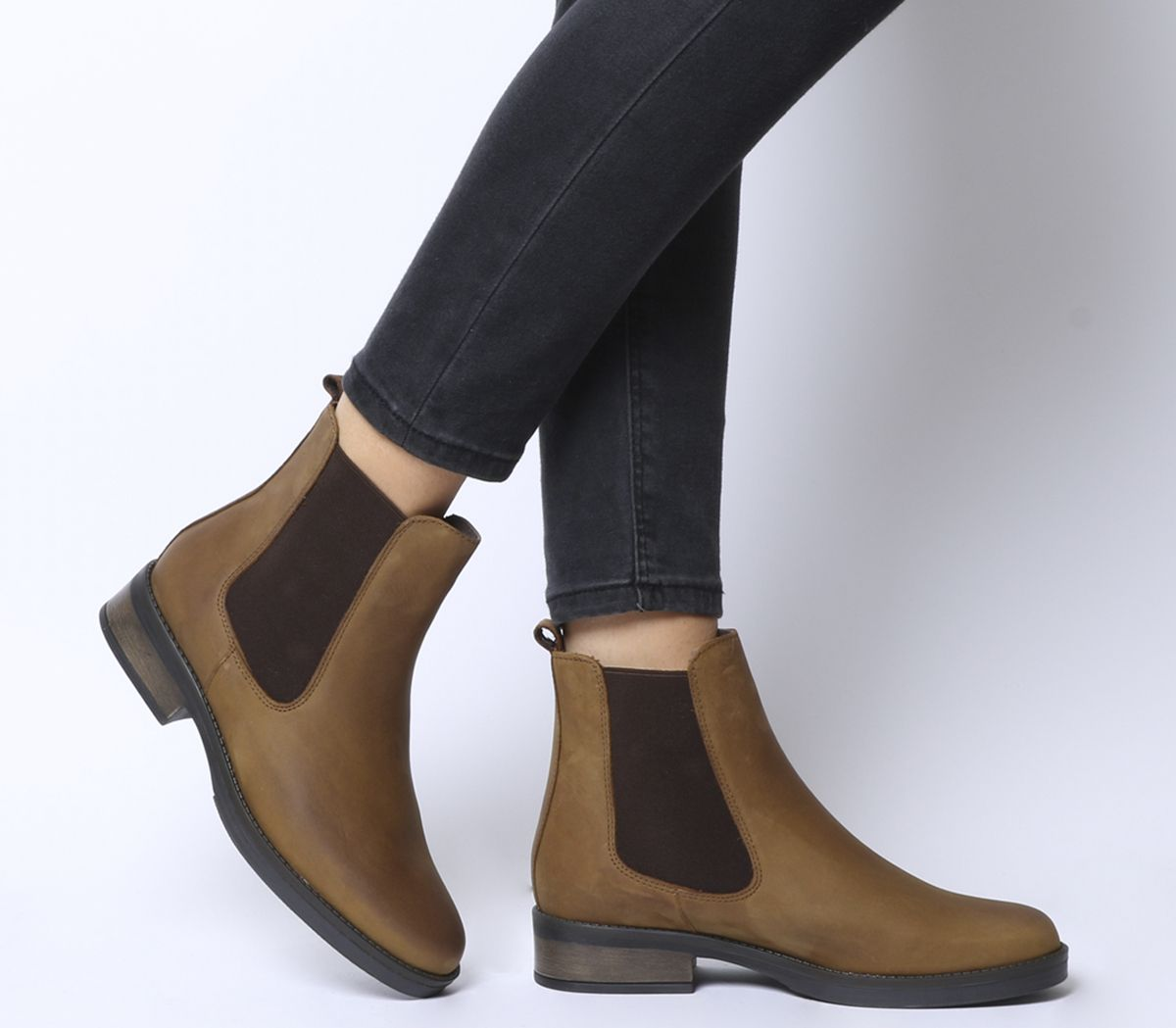 e08f84e04 Office Arlington Casual Chelsea Boots Brown Leather - Womens Chelsea ...
