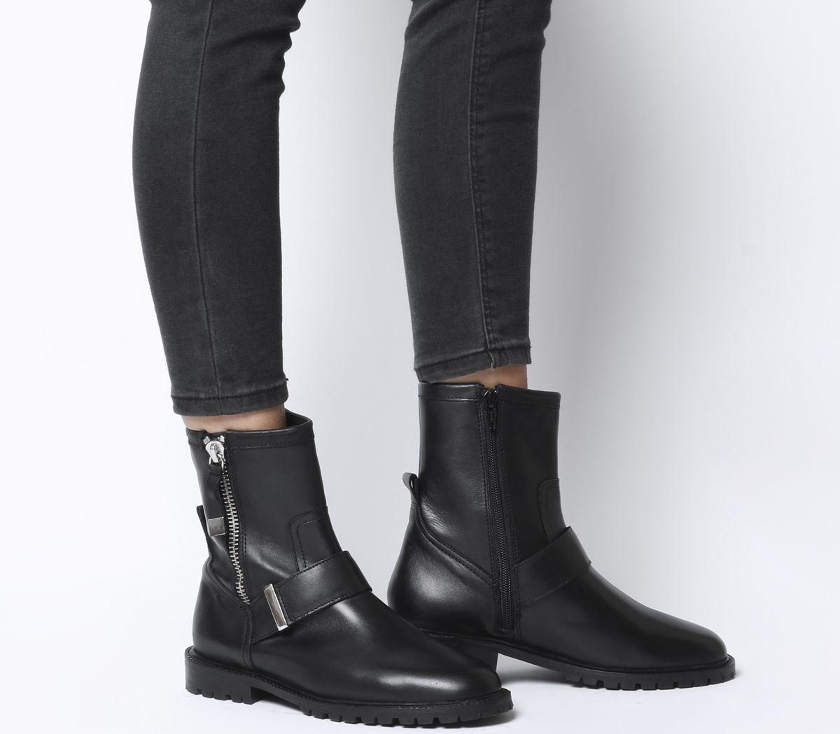 quality design 5ccf3 c831e Armstrong Side Zip Biker Boots
