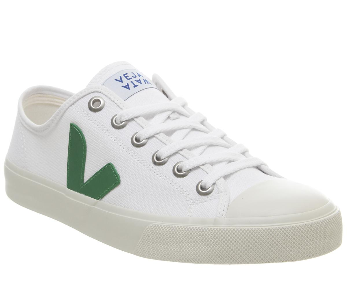 Veja Wata Trainers White Green - His