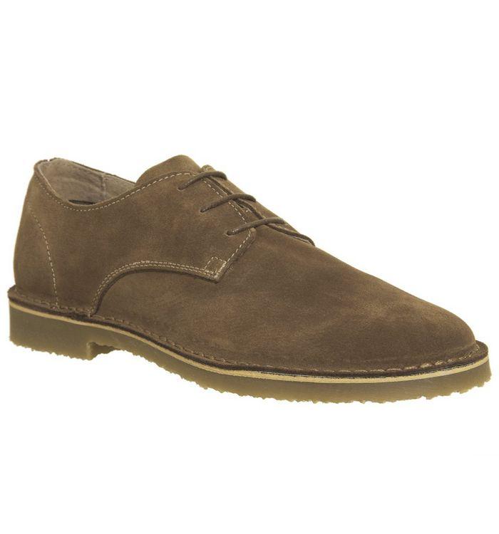 office inferno desert shoe rust suede