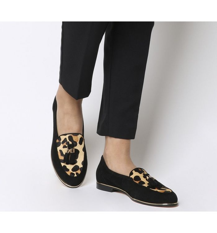 5fe891ec308f Office Floating Slippers Leopard - Animal Print
