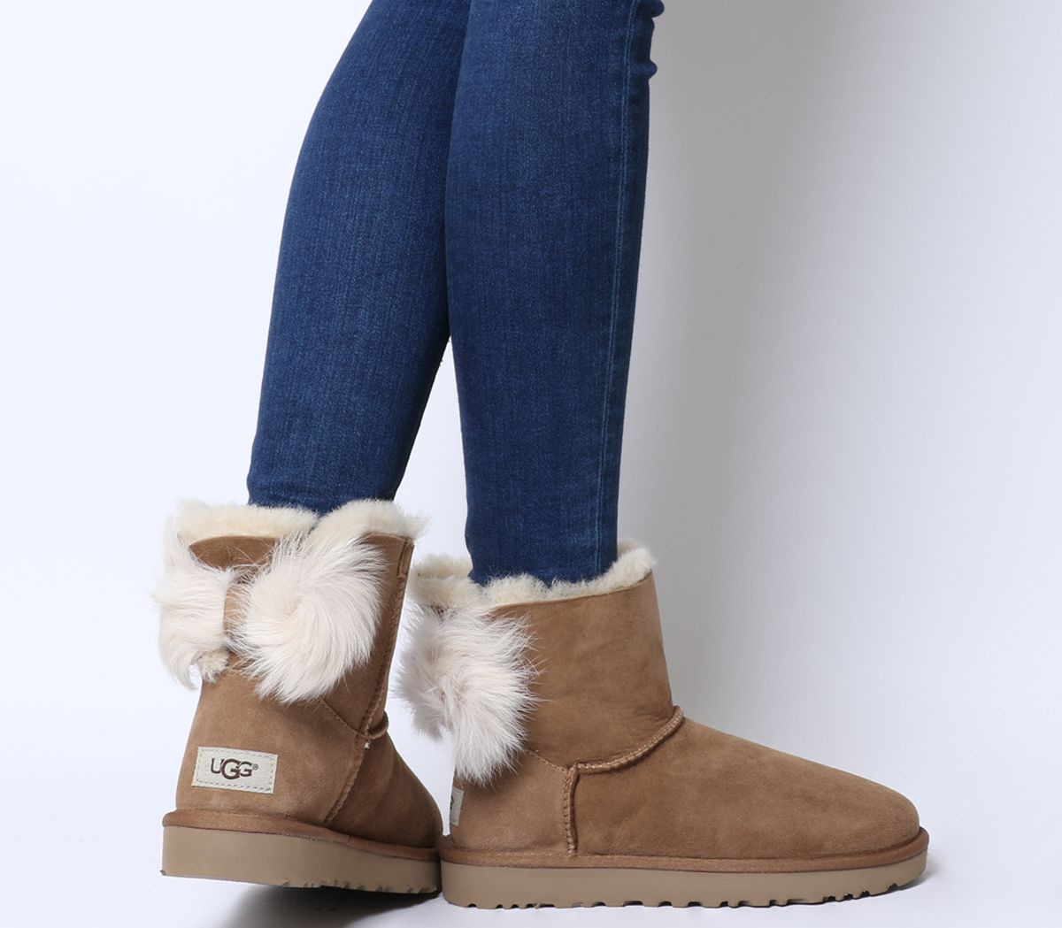 050acfb2628 Fluff Bow Mini Boots