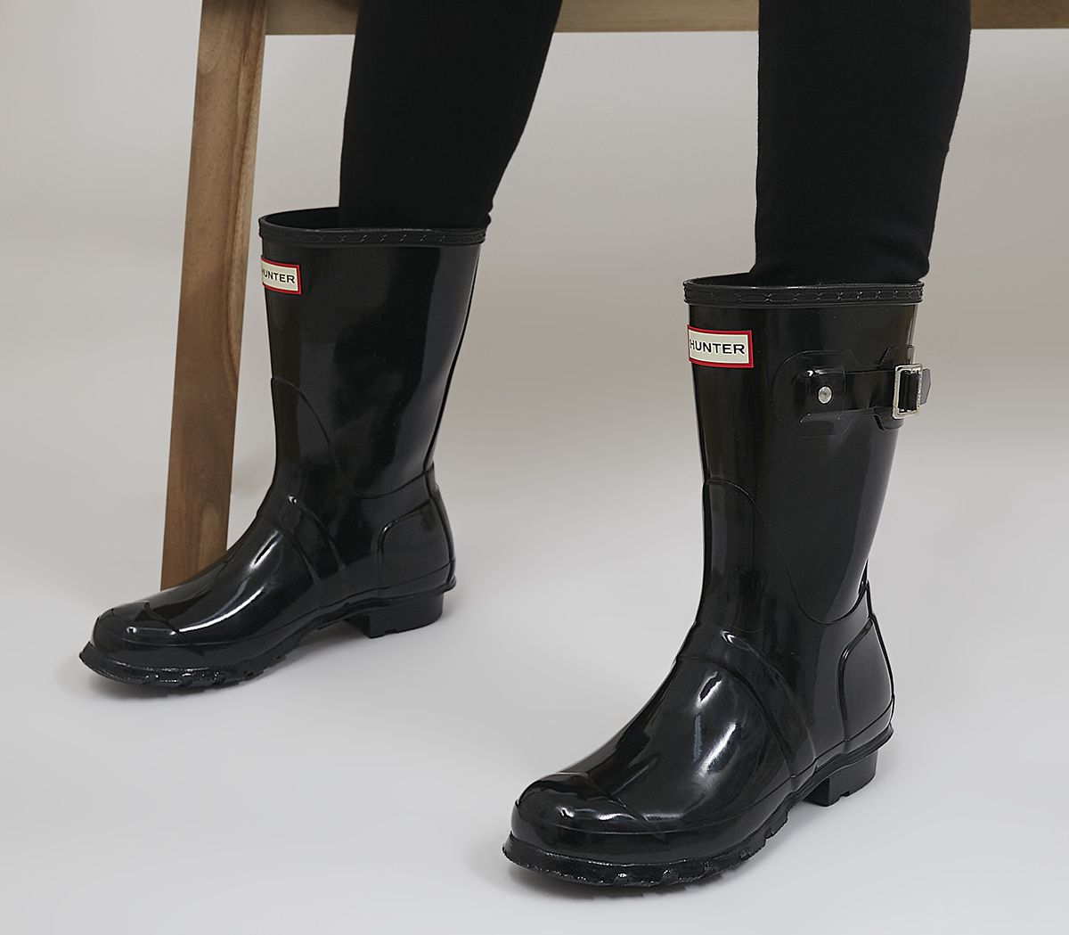 347718167cb Womens Original Short Gloss Wellies