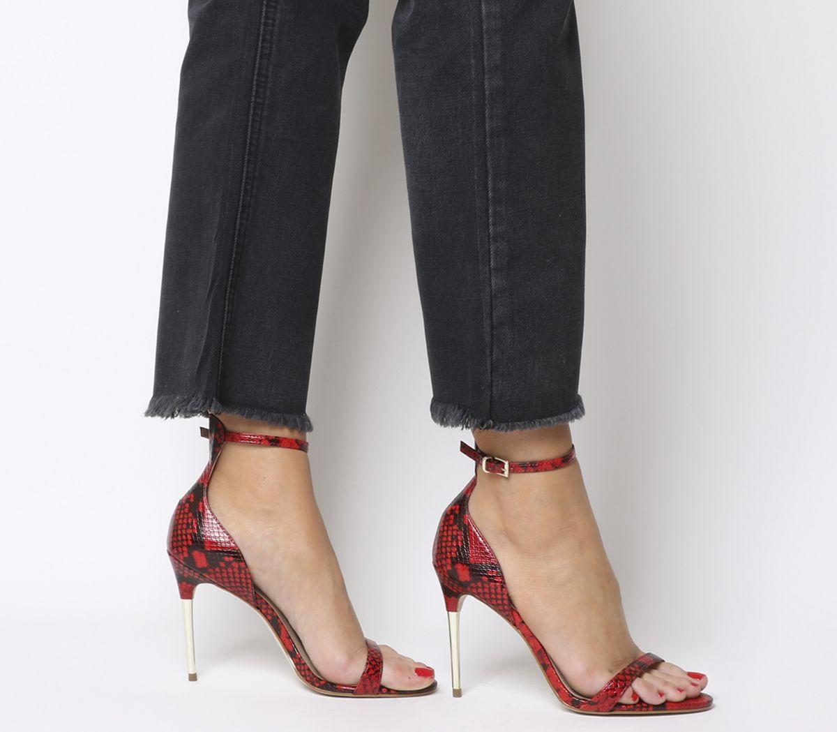 8603d953e07 Happy Metal Heel Sandals
