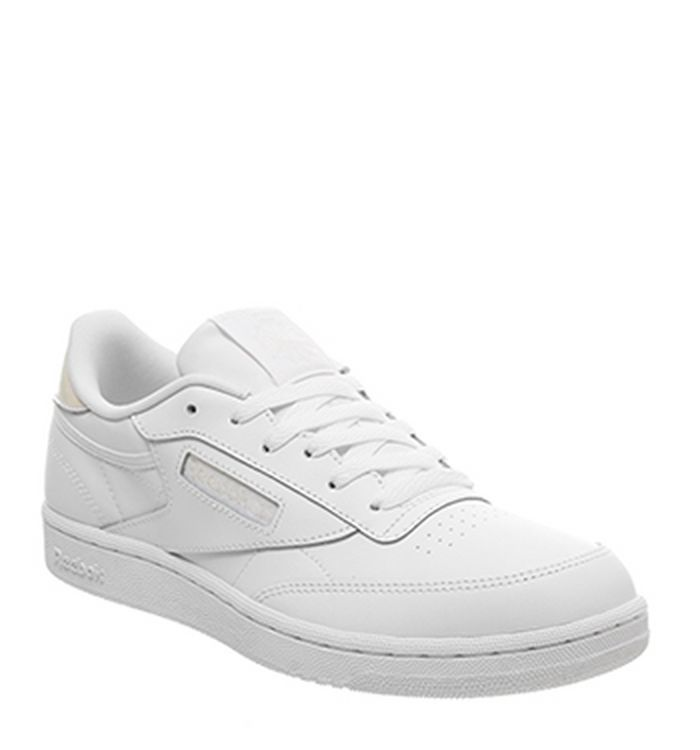 f5688ee955528 05-02-2019 · Reebok Club C GS Trainers White Irridescent