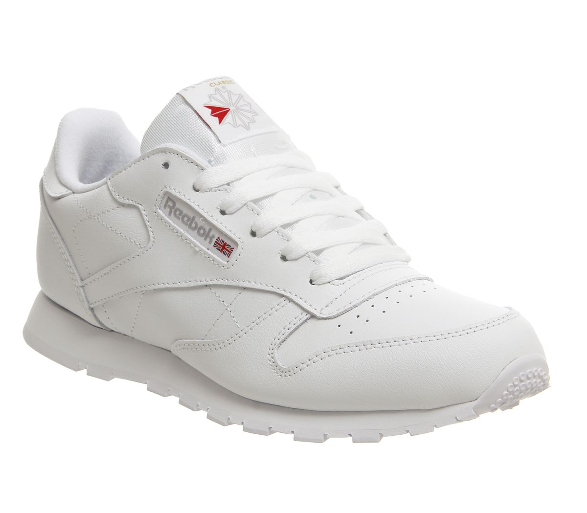 4502be54cb0 Reebok Classic Leather GS Trainers White - Hers trainers