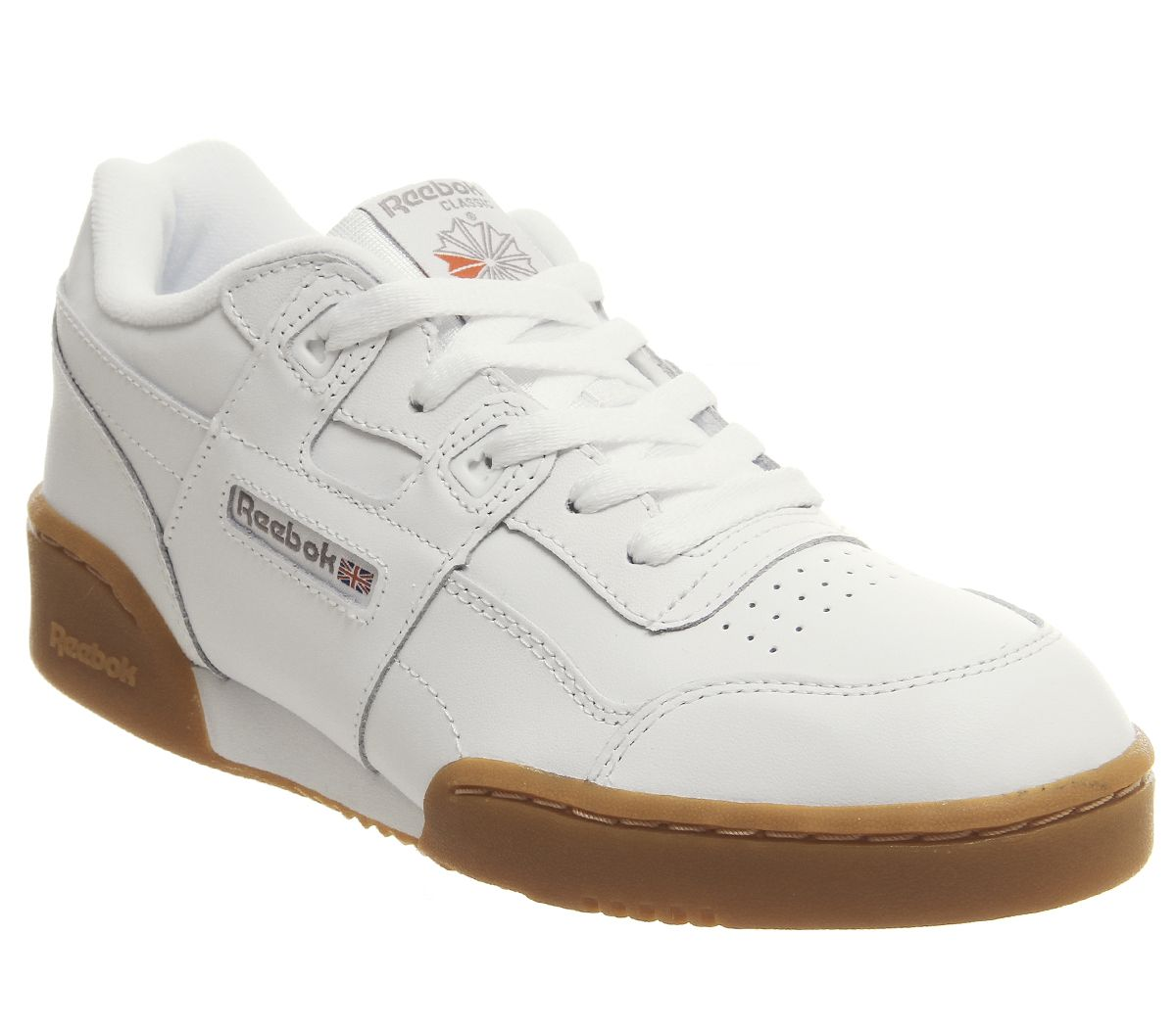 a0149f9b88cd Reebok Workout Gs Trainers White Gum - Hers trainers