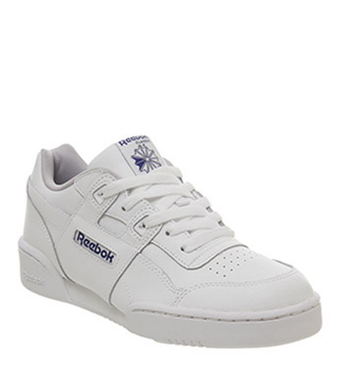 f8cb1eef82bc3 27-11-2018 · Reebok Workout Gs Trainers White Royal
