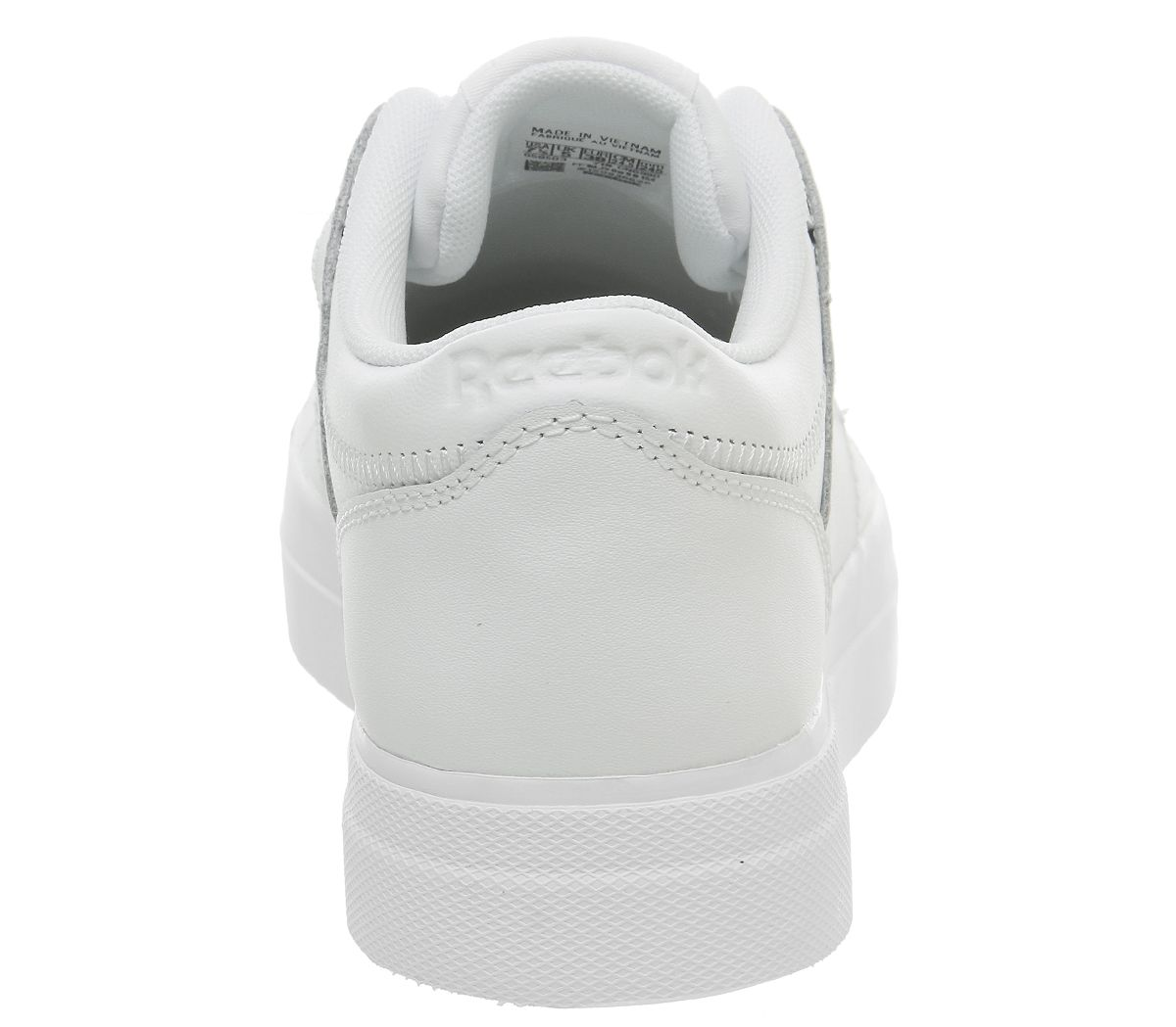 72f8fef0e56dc Reebok Workout Lo Fvs Trainers Basic White Skull Grey - Hers trainers