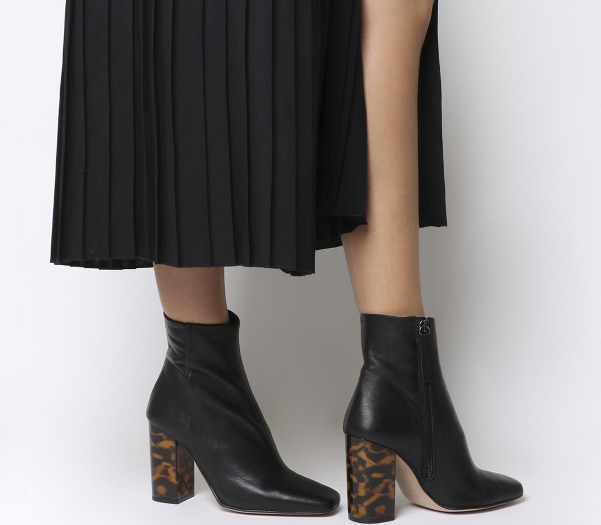 All Right Block Heel Boots