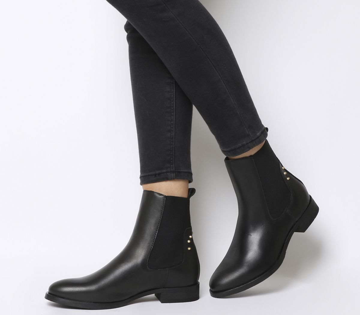 fb26700d7cf Shoe the Bear Marla Chelsea Boots Black Leather - Womens Boots
