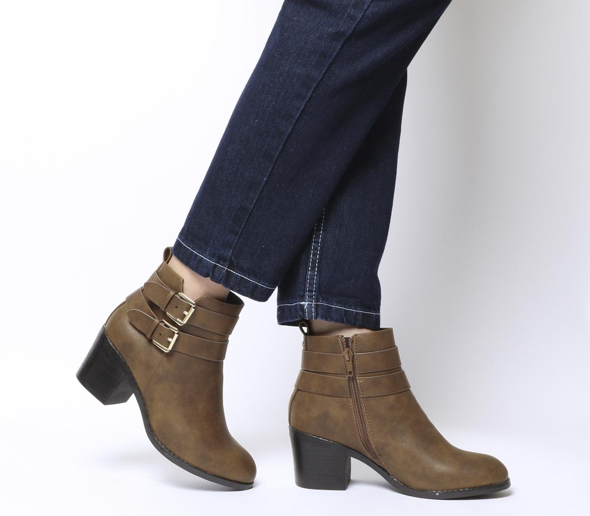 Author Double Buckle Boots