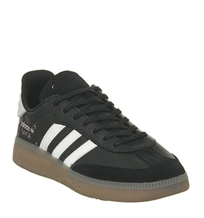 c4355c932a00 Launching 31-01-2019 · Adidas Samba Rm Trainers Core Black White Clear  Orange