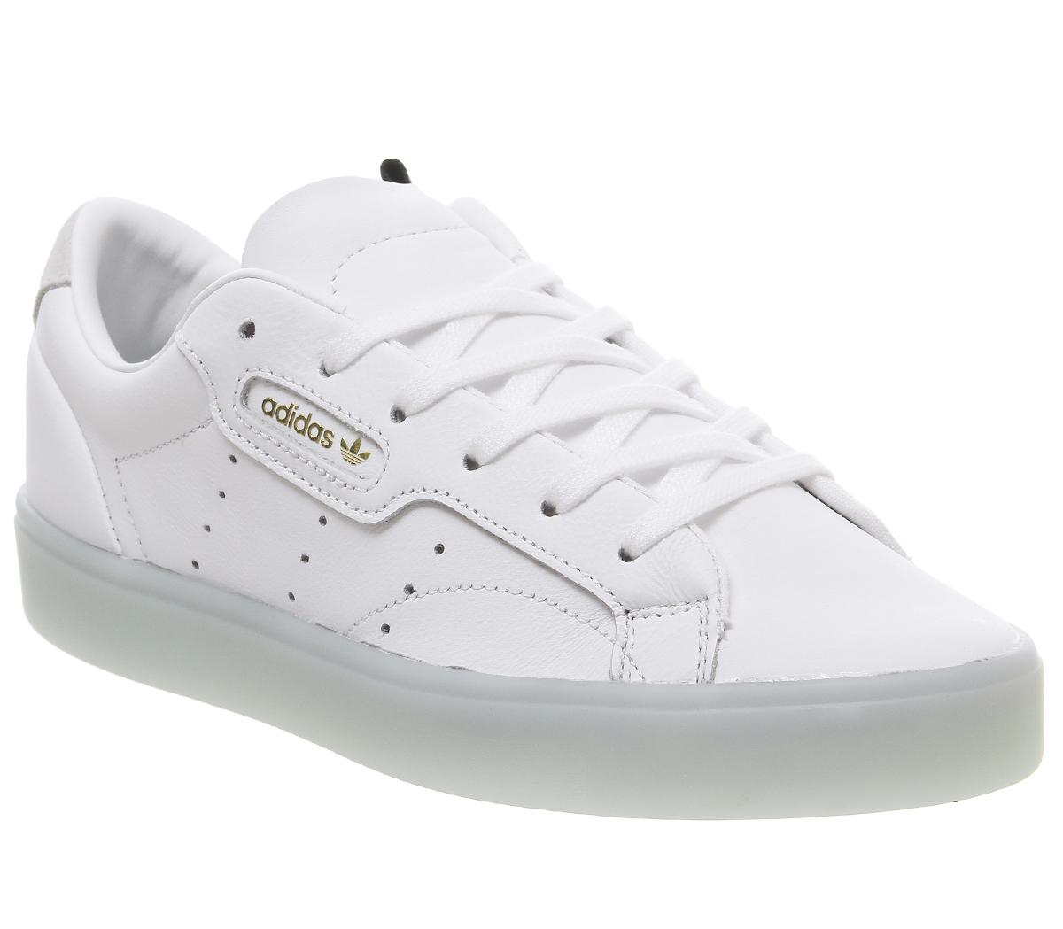 Adidas Superstar Womens Trainers In Ice Mint White | adidas