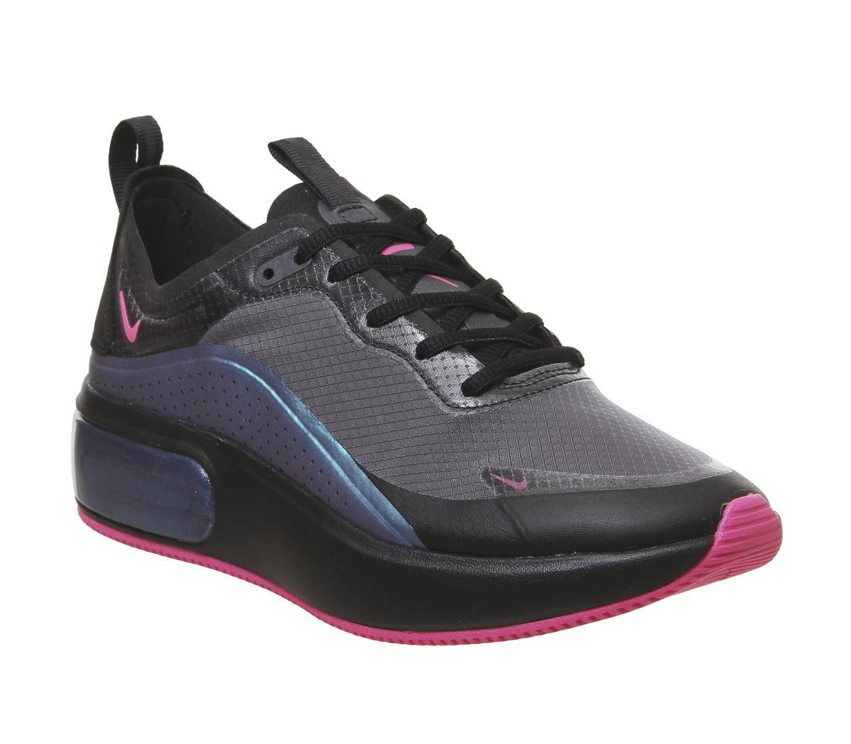 Nike Air Max Dia Trainers Black Laser