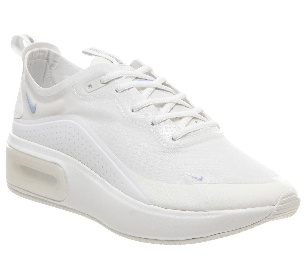 new arrival a9cf3 ddf23 Nike Air Max Dia Trainers Summit White Black Summit White F - Hers ...