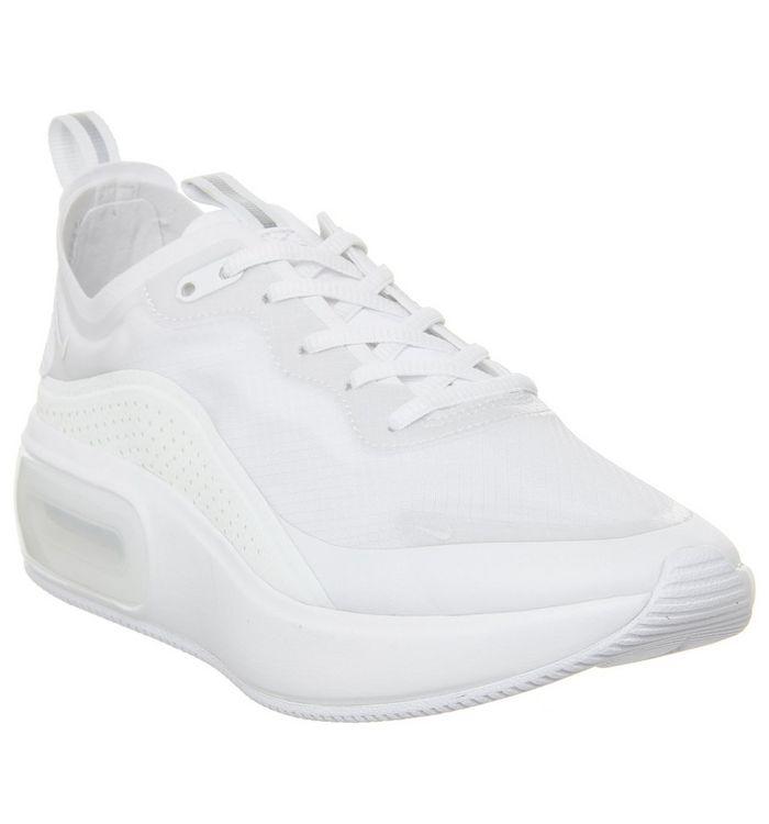 barato mejor valorado venta outlet precios increibles Nike Air Max Dia Trainers White Metallic Silver Summit White ...