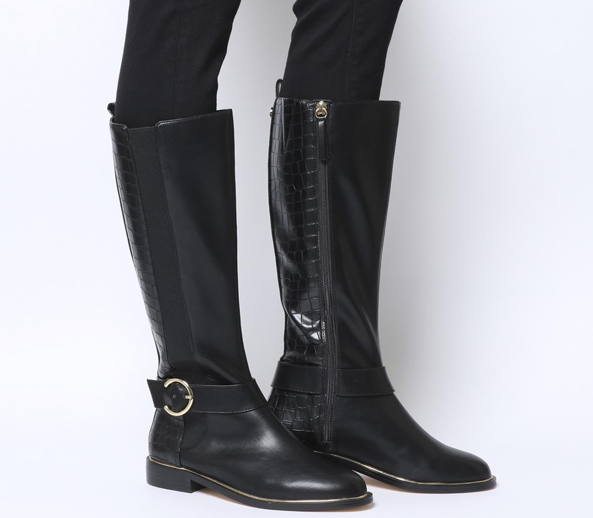 Keaton Rand Detail Rider Boots